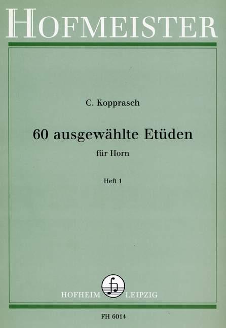 60-ausgewahlte-Etuden-fur-Horn-Band-1-horn-9790203460145